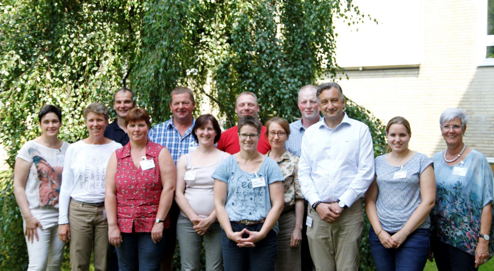 Gruppenfoto Workshopteilnehmer (Quelle: LVN Niedersachsen)
